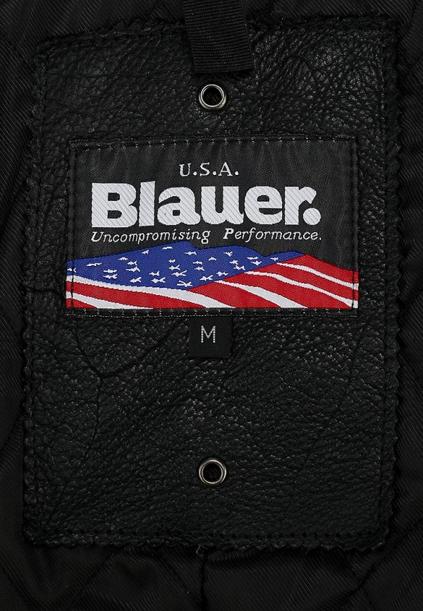 Кожаная куртка Blauer 14wblul01327: изображение 4