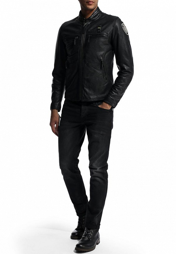 Кожаная куртка Blauer 14wblul01327: изображение 9