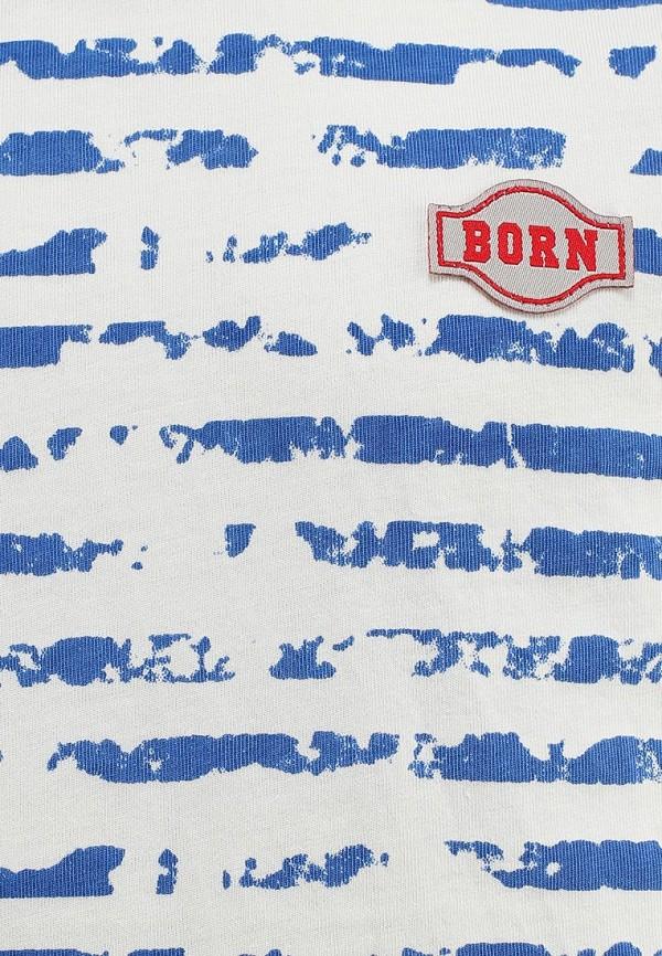 Футболка Born 13-2040-FАголубой/белый: изображение 3