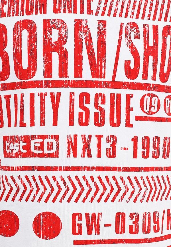 Футболка Born 13-2054-ACбелый/красный: изображение 3