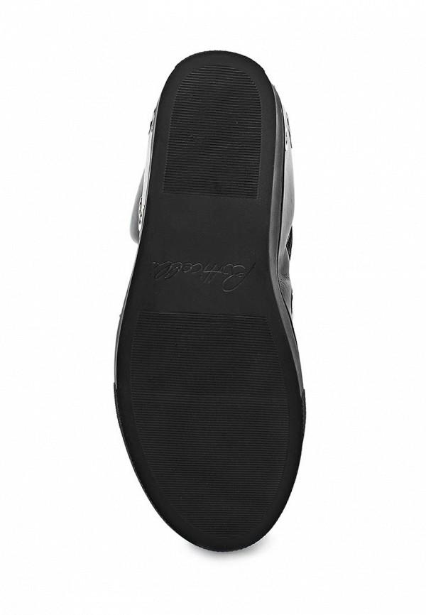 фото Ботильоны на танкетке Botticelli Limited BO330AWAFS81, черные/шнурки