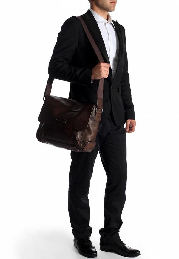 Кожаная сумка Boss Orange 50274020: изображение 10