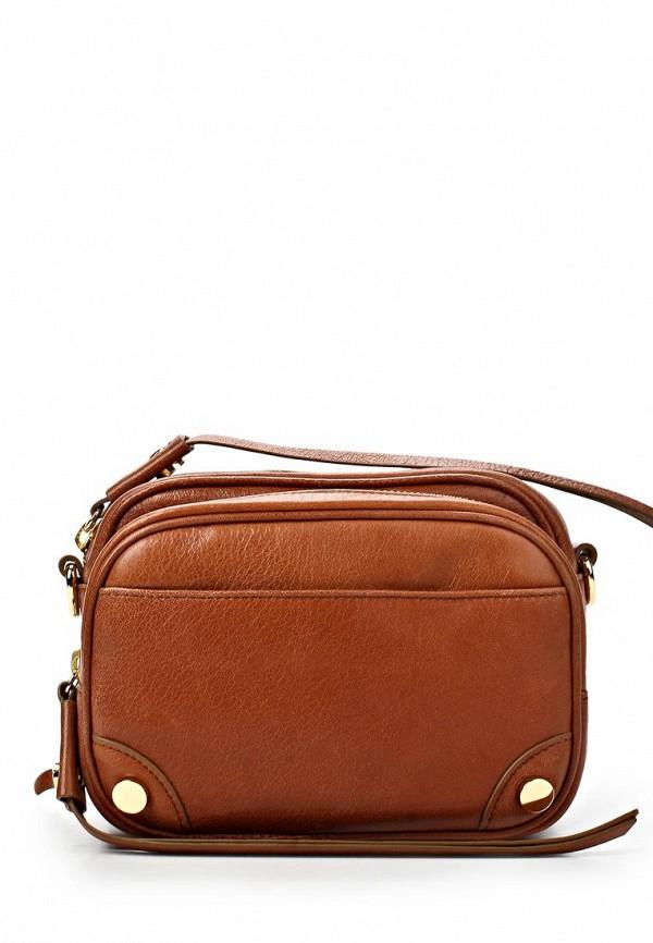 Кожаная сумка Boss Orange 50261631: изображение 1
