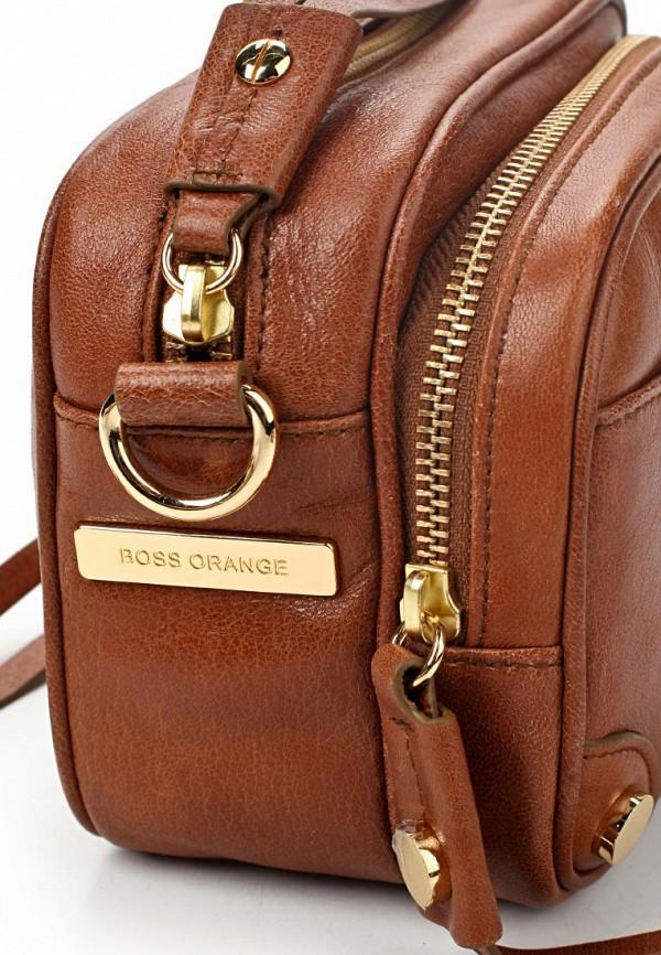 Кожаная сумка Boss Orange 50261631: изображение 3