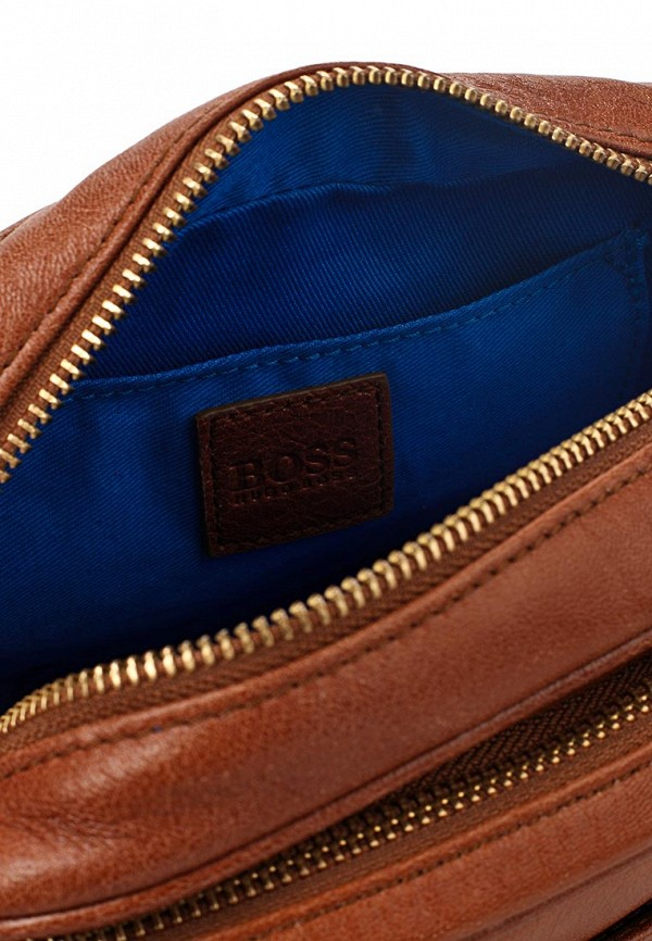 Кожаная сумка Boss Orange 50261631: изображение 7