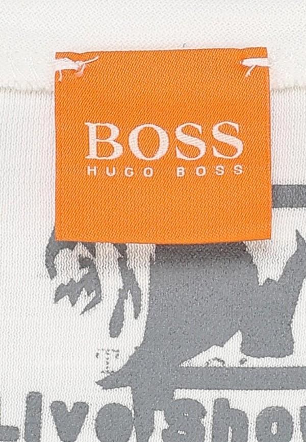 Футболка с надписями Boss Orange 50259557: изображение 5