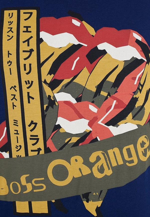 Футболка Boss Orange 50259584: изображение 12