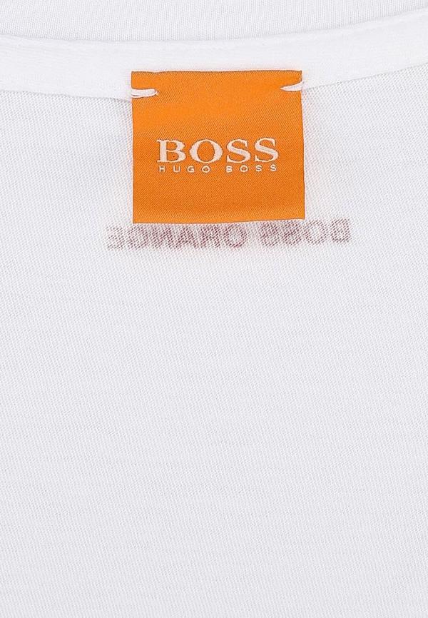 Футболка с надписями Boss Orange 50262778: изображение 5