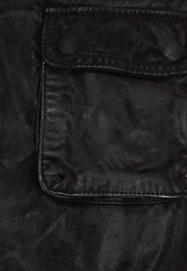 Кожаная куртка Boss Orange 50259732: изображение 13