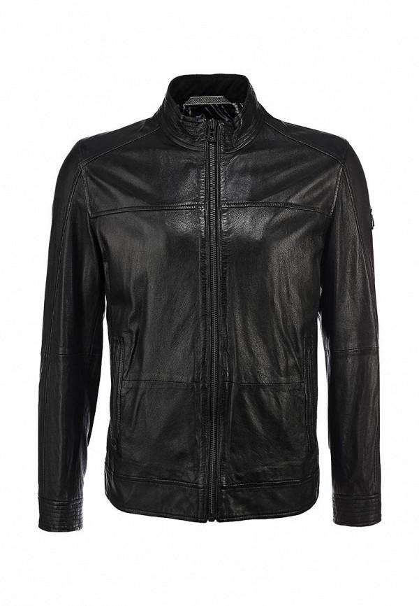 Кожаная куртка Boss Orange 50259744: изображение 2