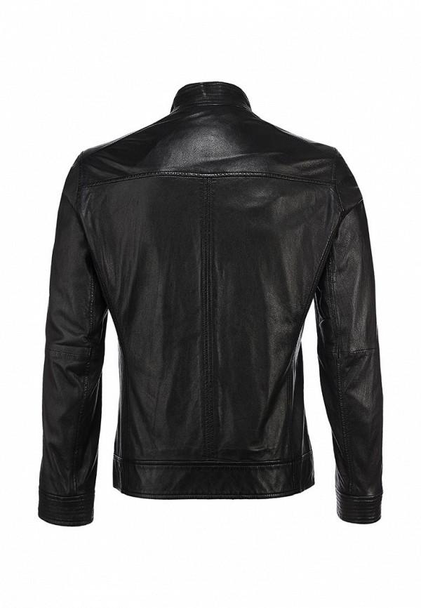 Кожаная куртка Boss Orange 50259744: изображение 4