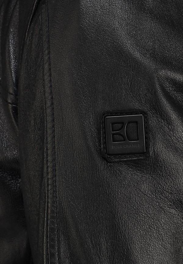 Кожаная куртка Boss Orange 50259744: изображение 14