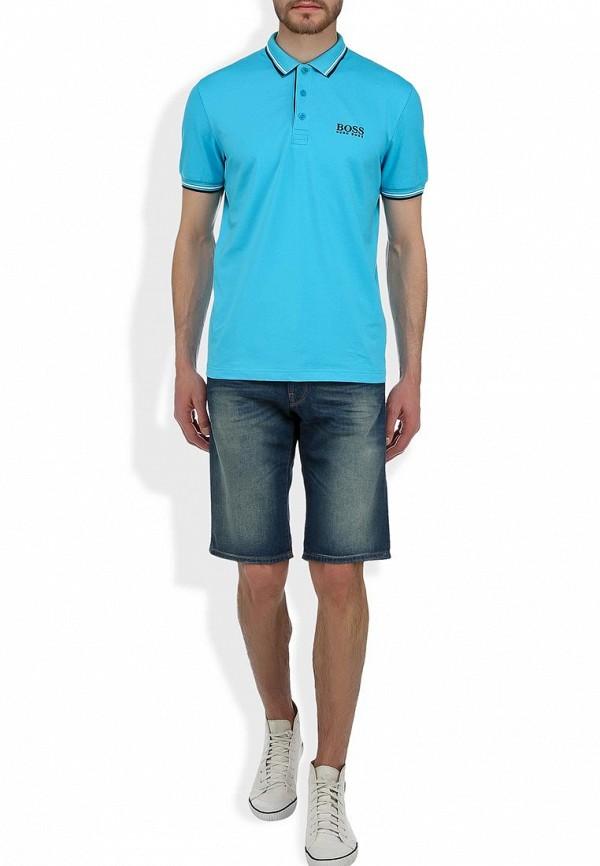 Мужские джинсовые шорты Boss Orange 50260777: изображение 6