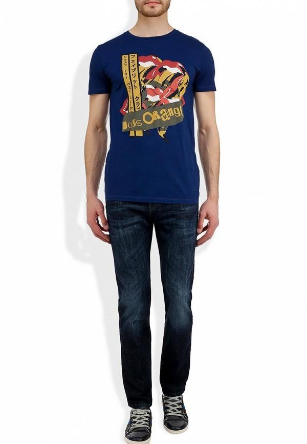 Мужские прямые джинсы Boss Orange 50260779: изображение 7