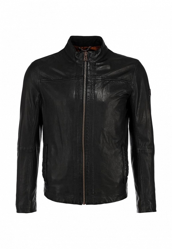 Кожаная куртка Boss Orange 50271207: изображение 2