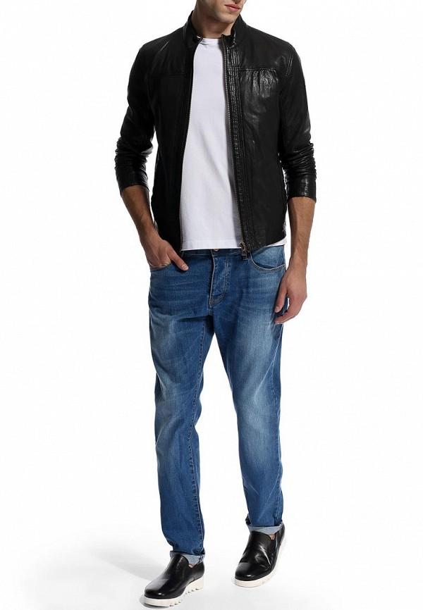 Кожаная куртка Boss Orange 50271207: изображение 10