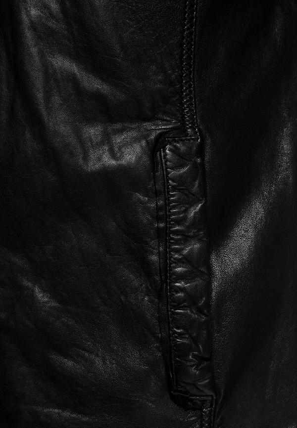 Кожаная куртка Boss Orange 50271207: изображение 12