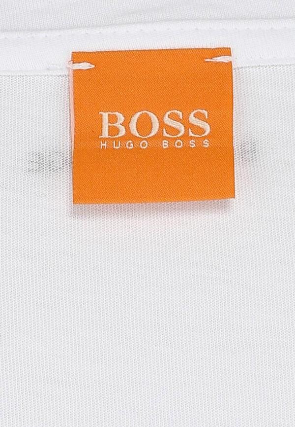 Футболка с надписями Boss Orange 50271010: изображение 4