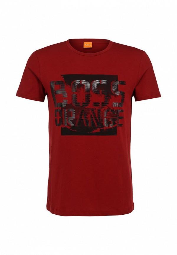 Футболка с надписями Boss Orange 50271010: изображение 2