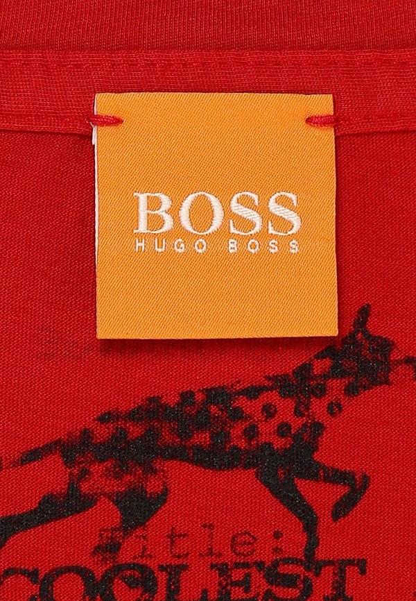 Футболка с фотопринтами Boss Orange 50271007: изображение 4