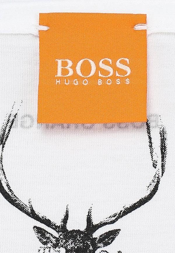 Футболка с фотопринтами Boss Orange 50271008: изображение 4