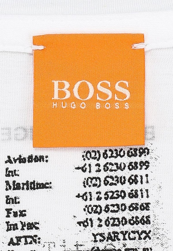 Футболка с фотопринтами Boss Orange 50271005: изображение 4