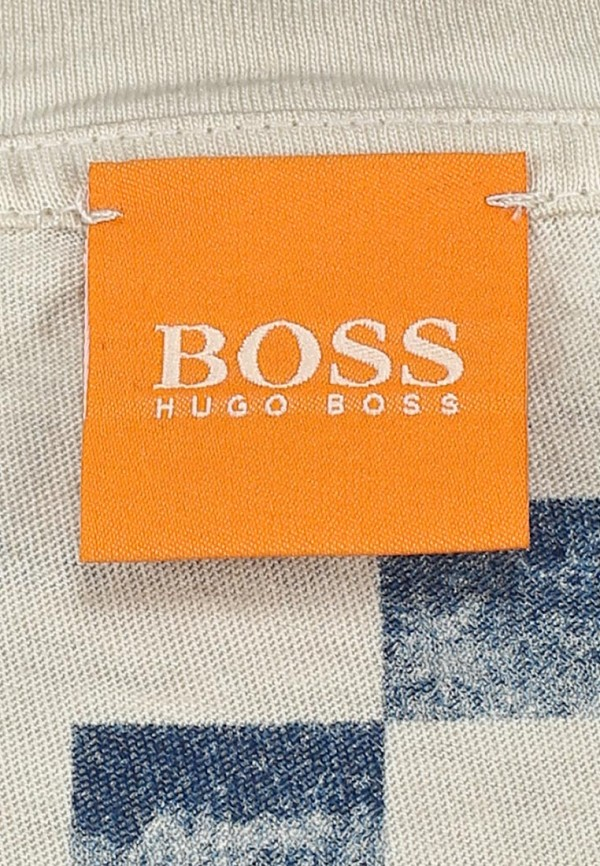 Футболка с надписями Boss Orange 50270994: изображение 5