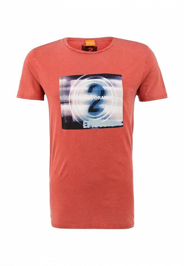 Футболка с фотопринтами Boss Orange 50271001: изображение 2