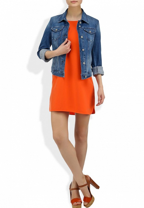 Джинсовая куртка Boss Orange 50261948: изображение 7