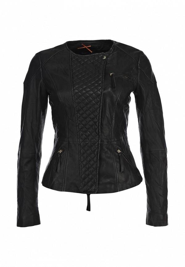 Кожаная куртка Boss Orange 50271588: изображение 1