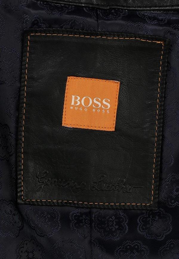Кожаная куртка Boss Orange 50271588: изображение 2