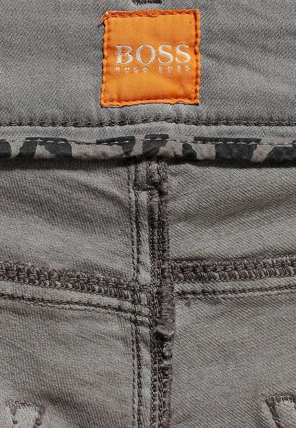 Зауженные джинсы Boss Orange 50271814: изображение 12
