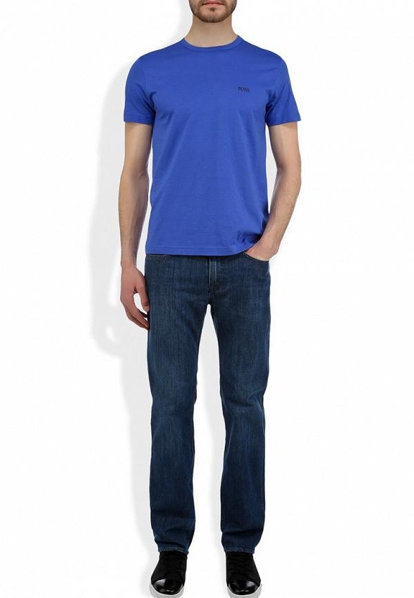 Мужские прямые джинсы Boss Green 50260814: изображение 8