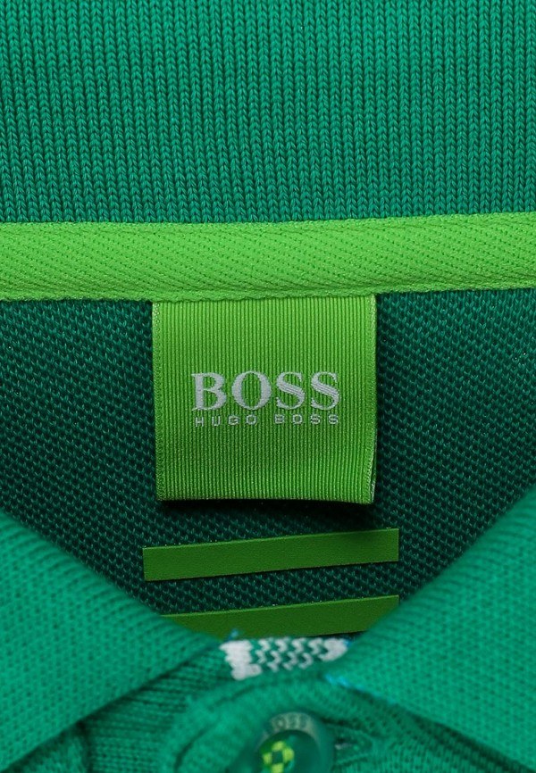 Мужские поло Boss Green 50198254: изображение 3
