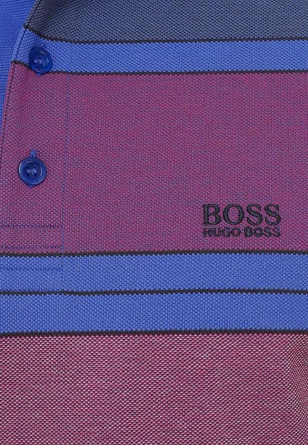 Мужские поло Boss Green 50259795: изображение 6