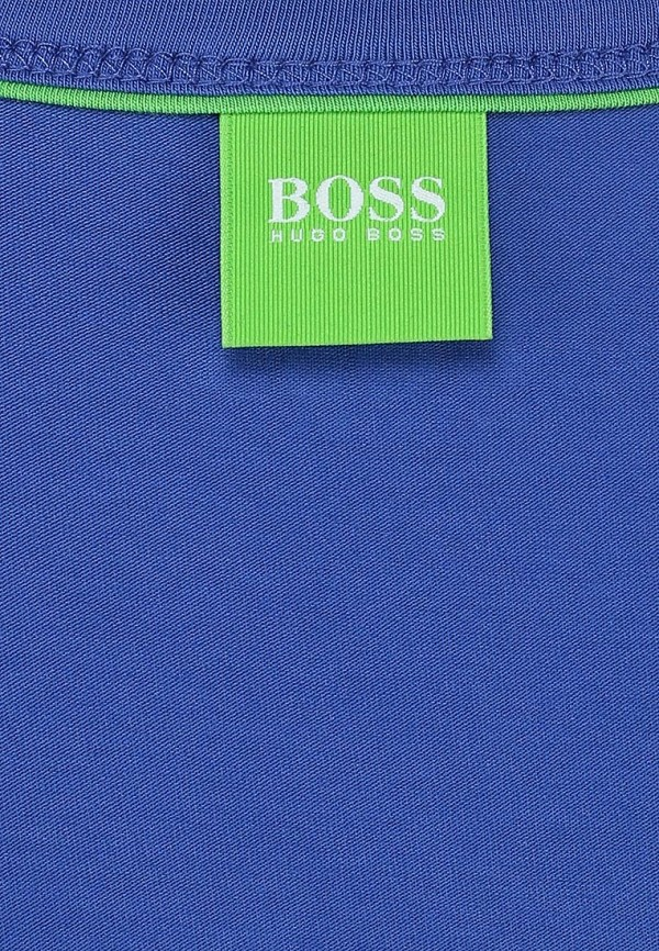 Футболка с надписями Boss Green 50236203: изображение 3