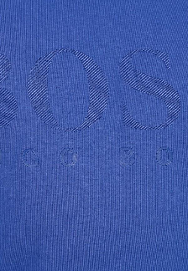 Футболка с надписями Boss Green 50236203: изображение 6