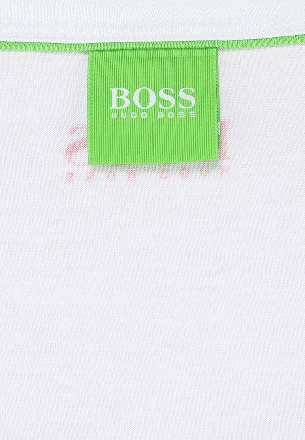 Футболка с надписями Boss Green 50259683: изображение 5
