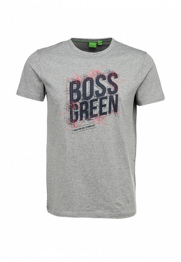 Футболка с надписями Boss Green 50259690: изображение 2