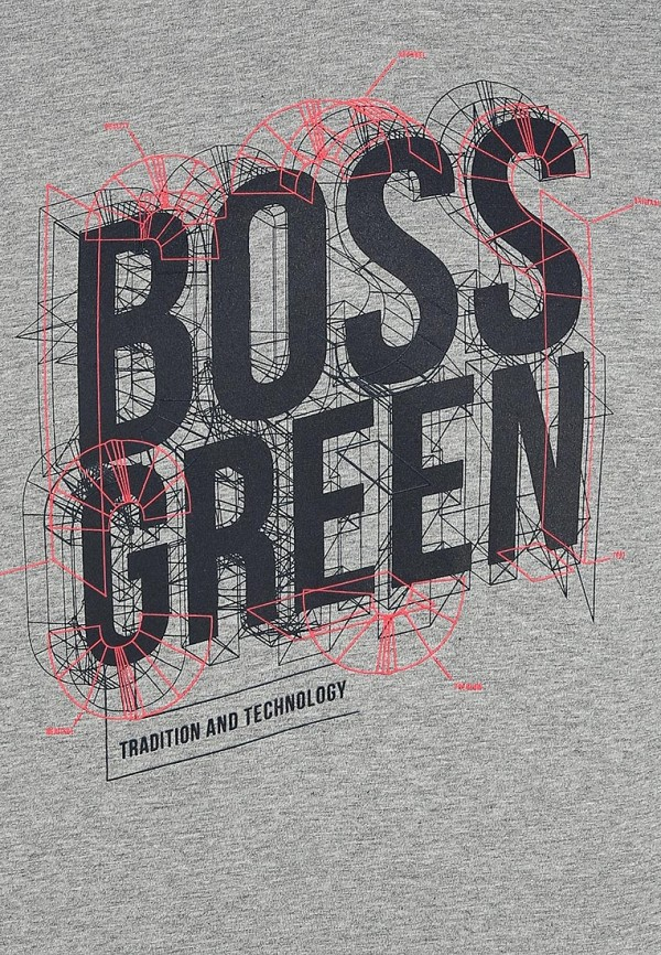 Футболка с надписями Boss Green 50259690: изображение 13