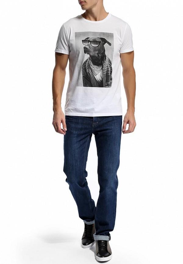 Мужские прямые джинсы Boss Green 50270730: изображение 6