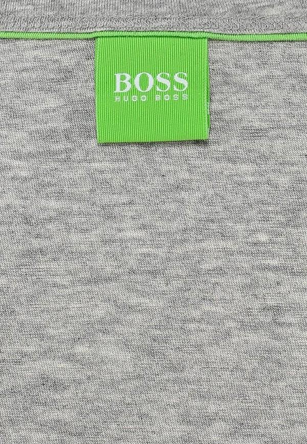 Футболка с надписями Boss Green 50271054: изображение 4