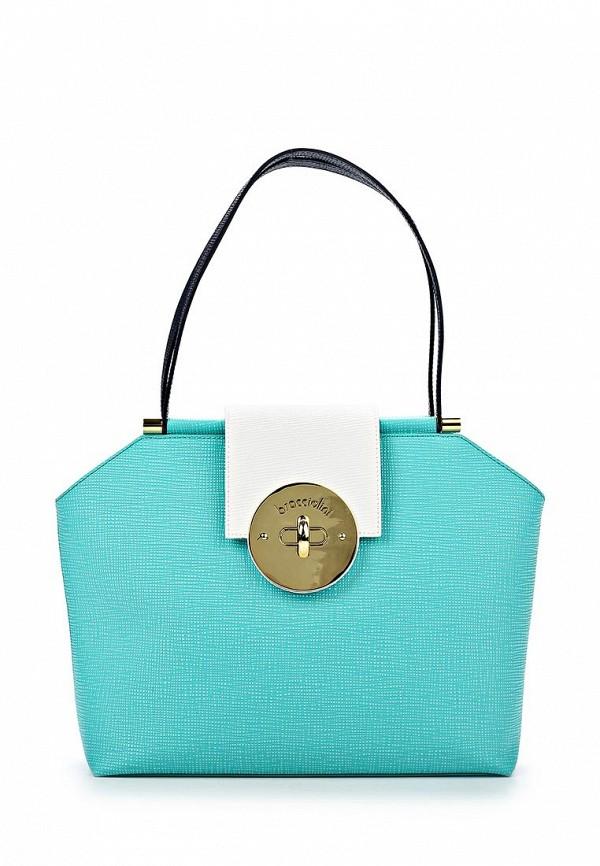 Кожаная сумка Braccialini B8536: изображение 1
