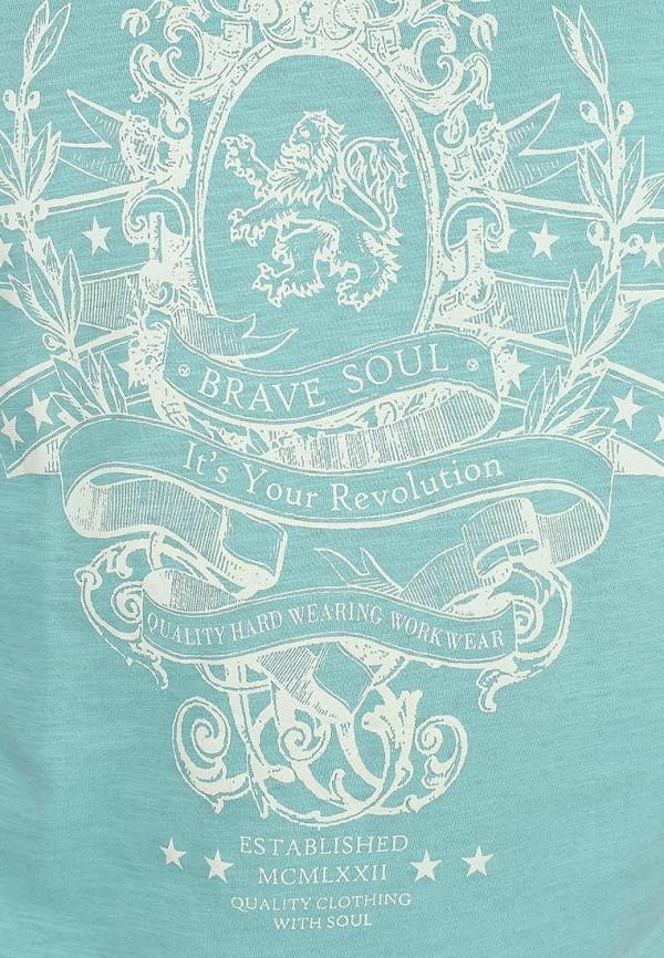 Футболка с надписями Brave Soul MTS-69RITZ: изображение 5