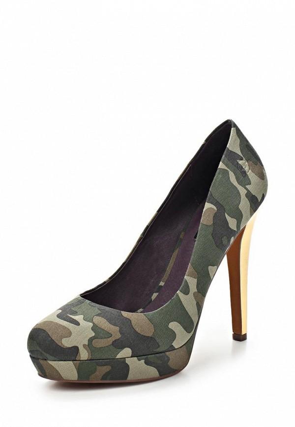 фото Туфли на платформе и каблуке Bronx BR336AWBQN31, хаки