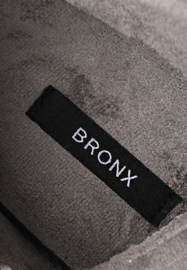 фото Кеды женские на танкетке Bronx BR336AWBUW18, коричнево-белые