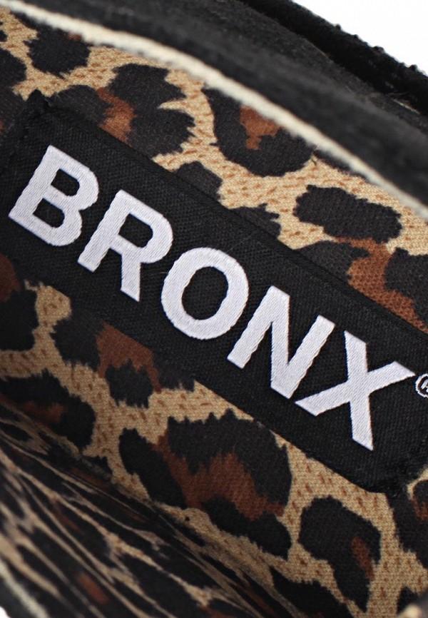 фото Полуботинки женские Bronx BR336AWBUW28, черные
