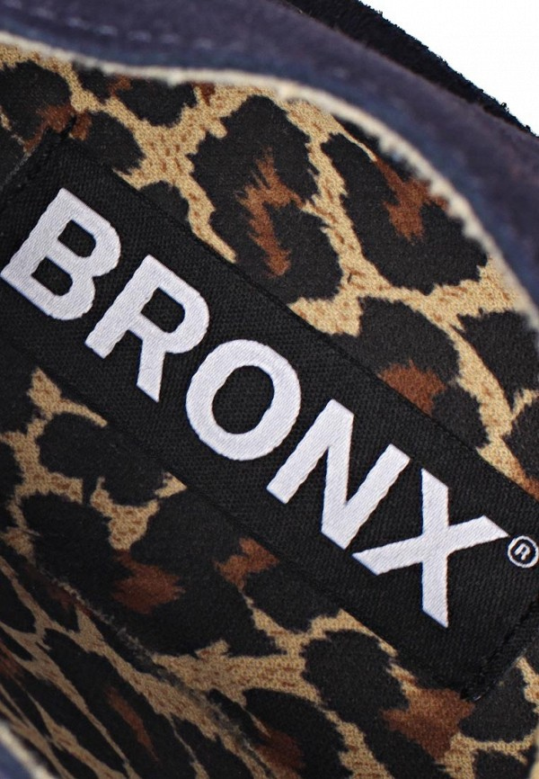 фото Ботинки женские Bronx BR336AWBUW29, темно-синие