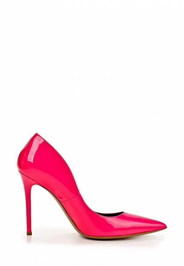 фото Туфли женские на каблуке Bruno Magli BR833AWBDX71, розовые лаковые