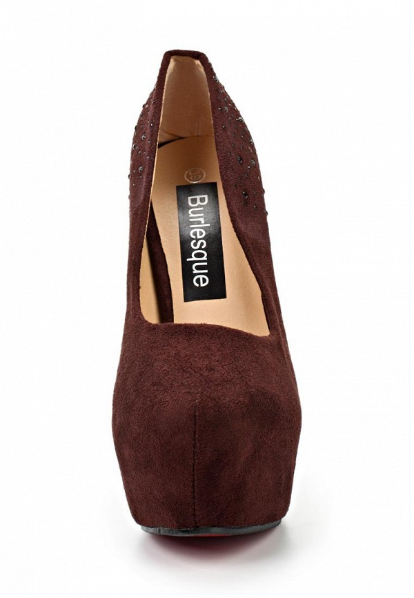 Туфли на каблуке Burlesque HB12-32: изображение 10